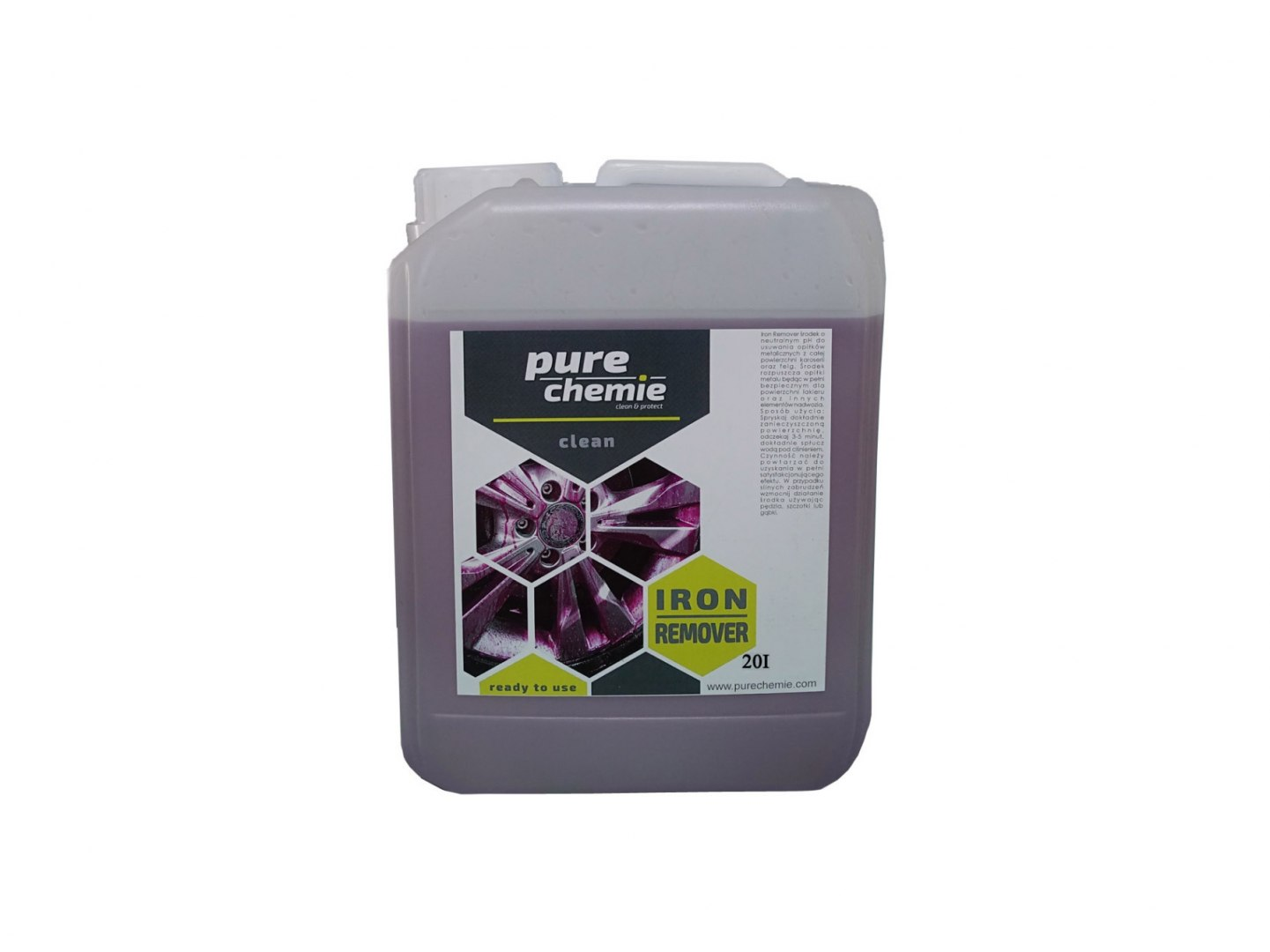 Pure Chemie Iron Remover 20L (Deironizer) - GRUBYGARAGE - Sklep Tuningowy
